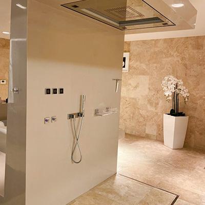 Luxus Dusche Groß