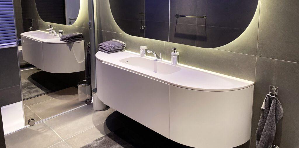 modernes Badezimmer Rossetti